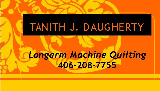 Tanith Daugherty Business Card